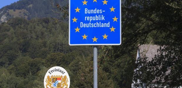 Grenzen EU corona Alpen