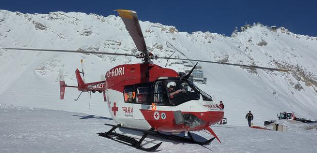 Reddingshelikopter Christoph 46. Foto DRF Luftrettung