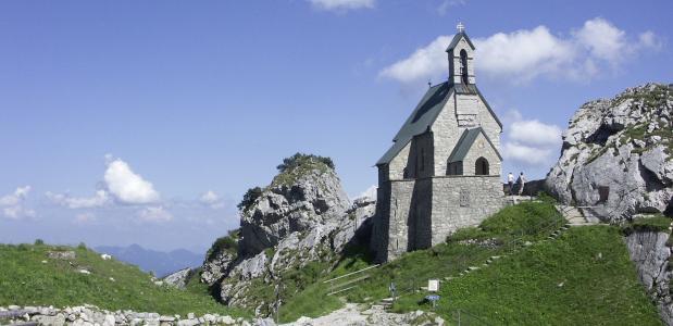 De Wendelsteinkirche: de hoogstgelegen kerk van Duitsland