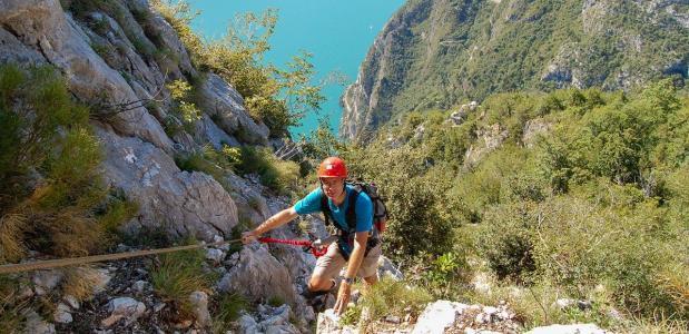 Cima Capi Klettersteig - Taco Vos