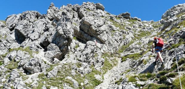 Veilig klettersteigen
