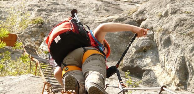 Lanste klettersteigroutes