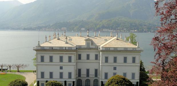 Een van de vele villa's aan het Comomeer