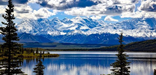 Denali, Alaska. Foto: Pixabay