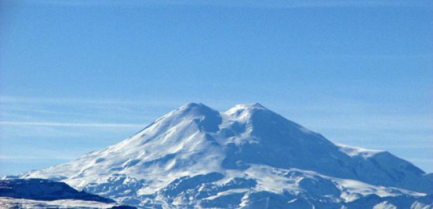 De Elbrus in de Kaukasus - Europa's hoogste berg