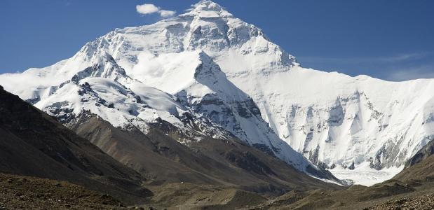 Poep op de Mount Everest
