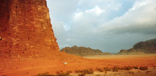 © frankdasilva Rotsformaties in Wadi Rum Jordanië