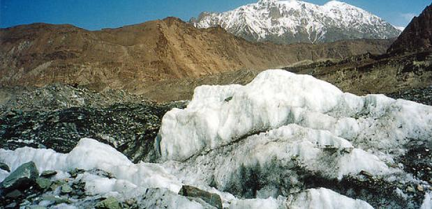 Gletsjer Pakistan foto bongo vongo