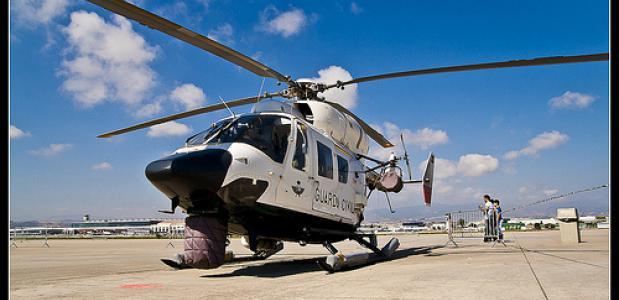 Reddingshelikopter Guardia Civil helicopter_Foto Tupolev und seine Kamera