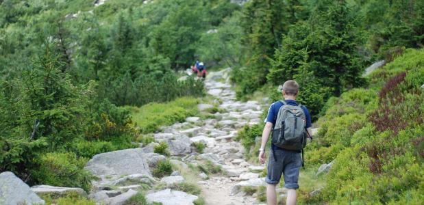 Bergwandelen gezond