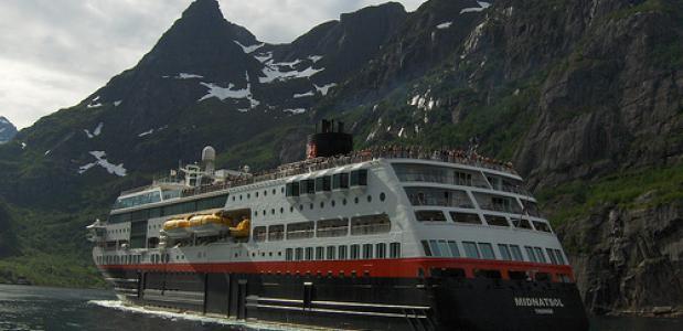 De Hurtigruten in Noorwegen - de mooiste zeereis van de wereld