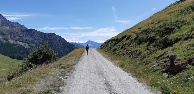 rust in de bergen