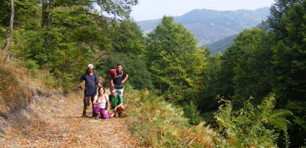Wandelen in Macedonië. Foto Tony Moerkens