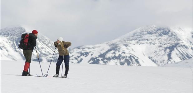 Langlaufen in Rondane. foto:C.H./Innovation Norway