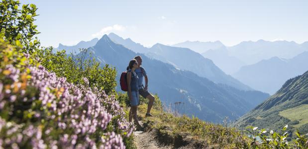 wandelvakantie Vorarlberg