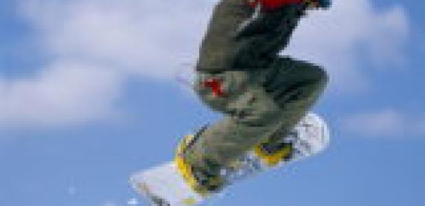 Wintersport in Avoriaz.