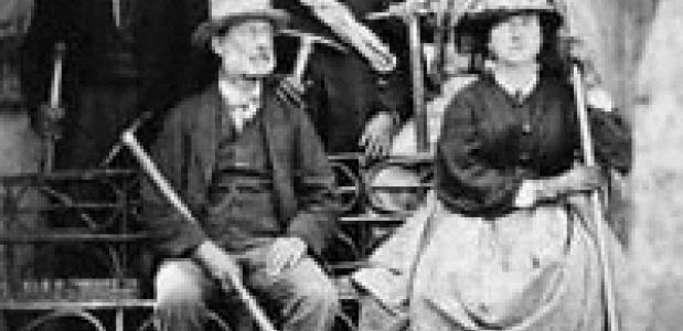 Lucy_Walker -_Frank_Walker -_Melchior_Anderegg -_Adolphus_Warburton_Moore in 1871