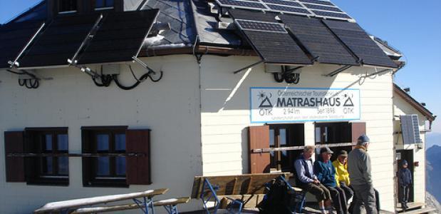 Matrashaus op de Hochkonig. Foto gernot.r