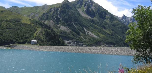Meer bij Mont Cenis