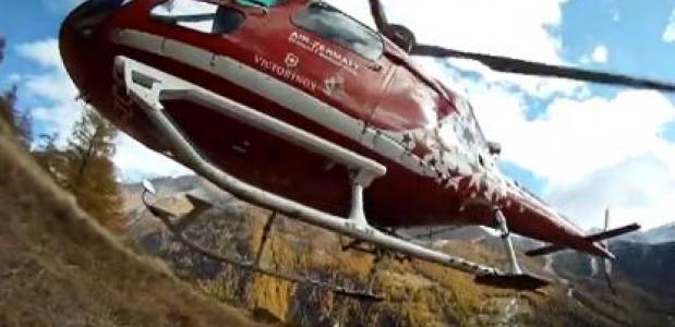 Bergredding rond Zermatt. Foto Menno Boermans
