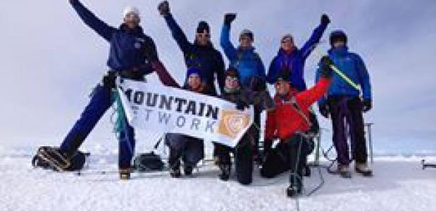 Bergen Magazine Mont Blanc Expeditie bereikt top.