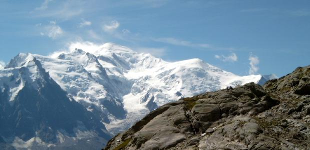 Mont Blanc By Tinelot Wittermans via Wikimedia Commons