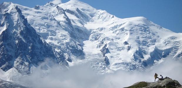 Bergen in Frankrijk Mont Blanc