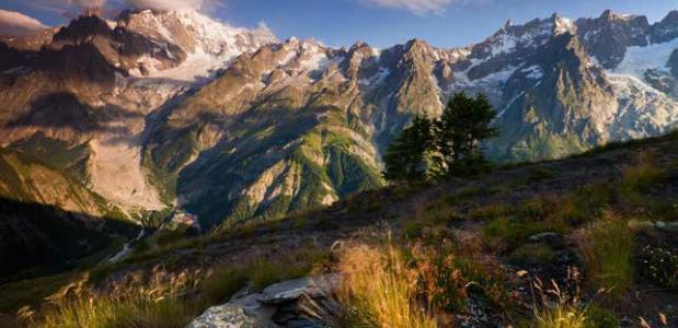 Monte Bianco foto Frank Peters