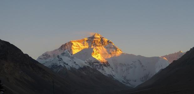 Hoe hoog is Mount Everest