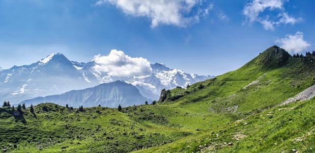 Zomervakantie in de bergen