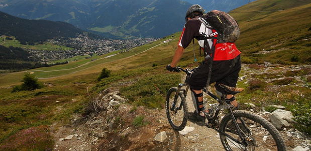 Tips voor mountainbiken. Foto Andy C