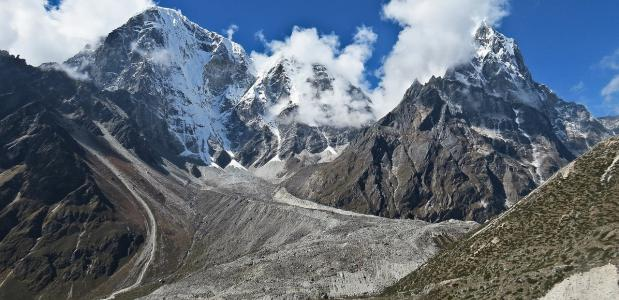 Himalaya, basiskamp, toppoging