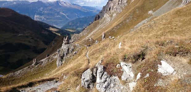 bergwandelen met hoogtevrees