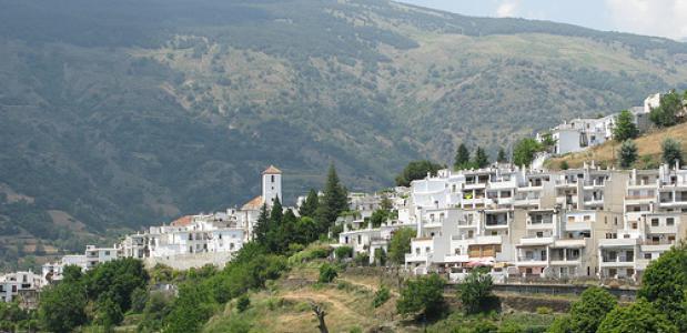 Uitzicht op de Mulhacen in Spanje. Foto Ronnie MacDonald