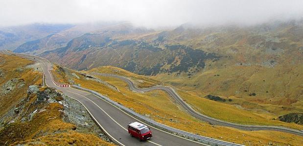 roadtrip door de bergen