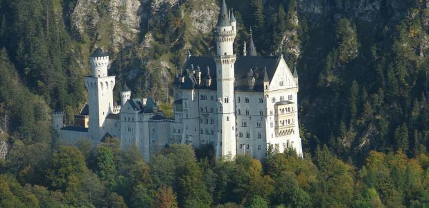 Slot Neuschwanstein. Foto via Pixabay