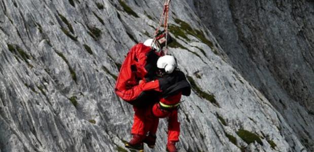 noodsignalen in de bergen