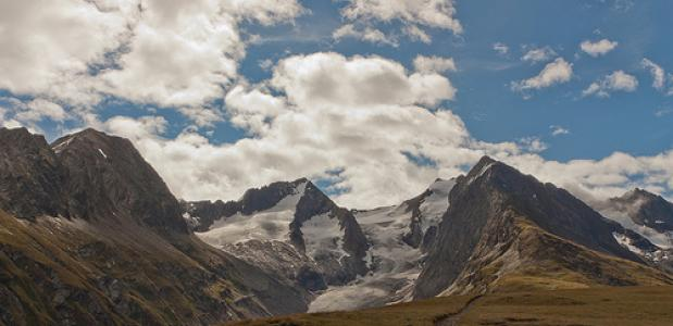Gletsjer Ötztal. Foto Mindgrow