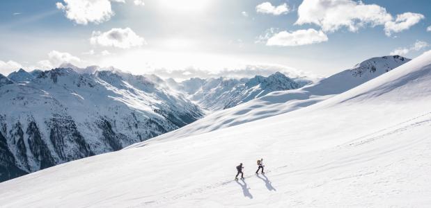 zonnebrand wintersport