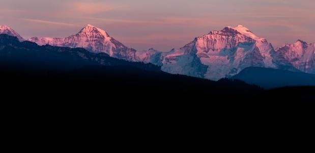 Wat is Alpenglühen