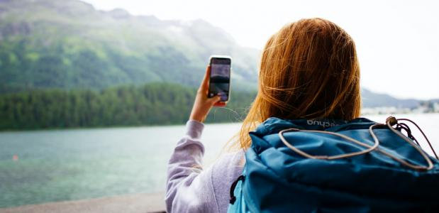 smartphone op vakantie