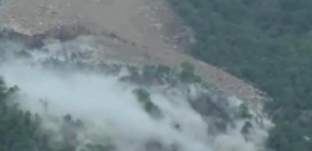 Aardverschuiving Preonzo in Ticino