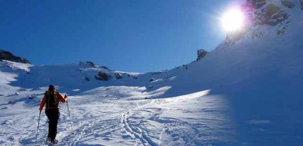 Winterwandelen in de Queyras. foto Dirk-Sytze Kootstra