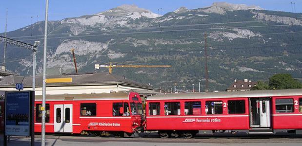 Chur train foto ActiveSteve
