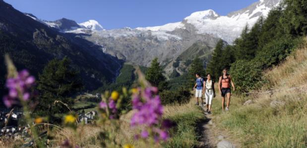 Saasdal foto: Wallis Tourismus-SwissImage