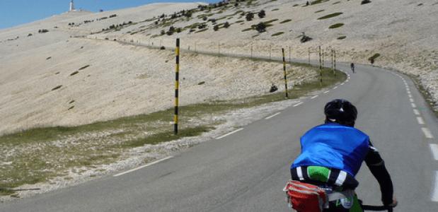 Mont Ventoux op de fiets. Foto Sjaak Kempe jack_of_hearts_398