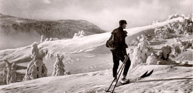 Skilaufen 17 © Kreisarchiv Breisgau Hochschwarzwald
