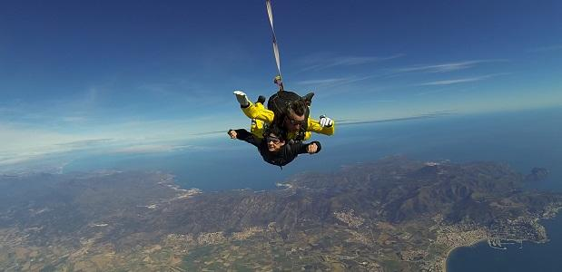 Skydiven in Catalonië