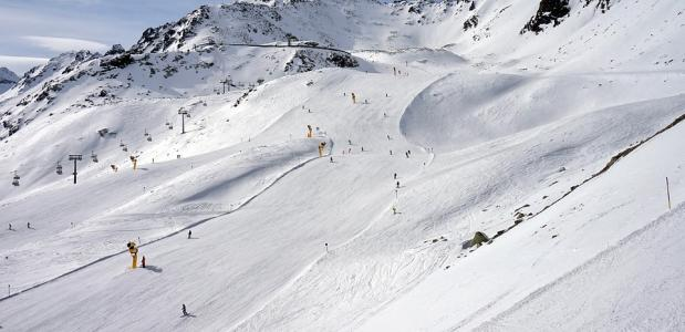 Skigebied Sölden. Foto via Pixabay