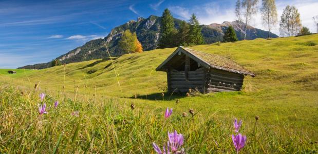 Wandelroute door de Karwendel
